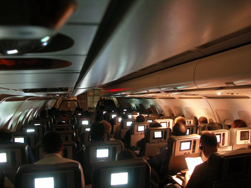 On JetBlue from San Jose to Boston, April 27,2006