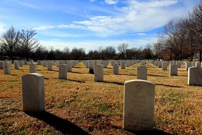 Gravestones in Springfield MO 2015