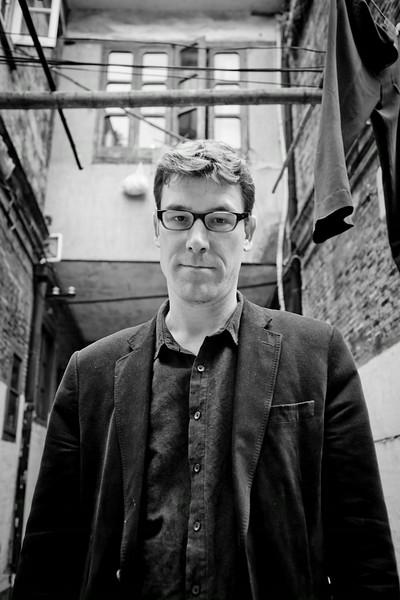 British writer Paul French, 2012 Shanghai