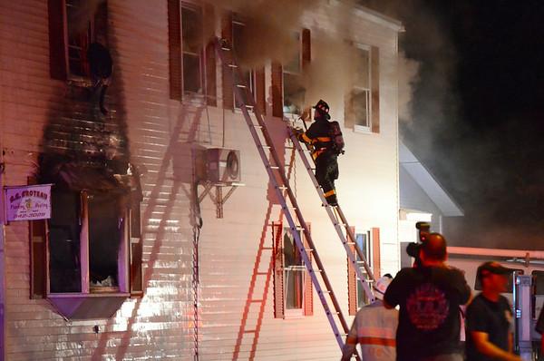 381 Summer St. Fitchburg Fire