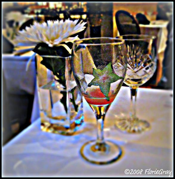 Elegant meal; Georgetown Restaurant, London