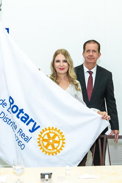 Cerimônia de Posse do Rotary e-Club Estrada Real