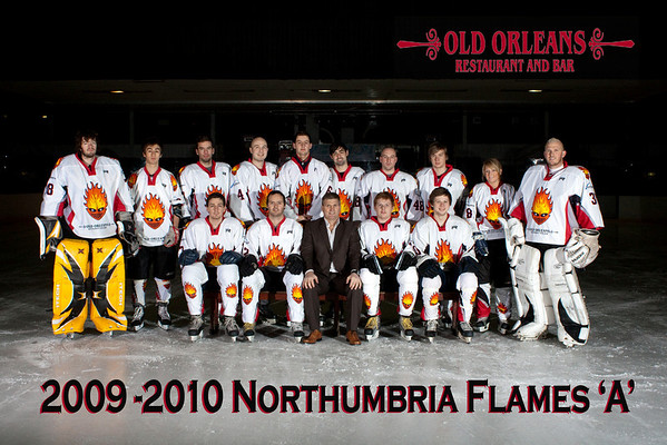 Flames Team Shots