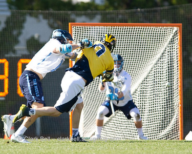 Michigan at North Carolina MLAX 2-6-2016