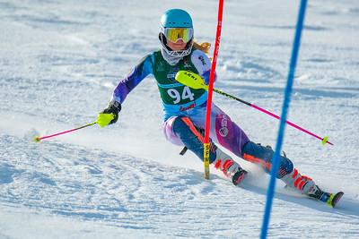 Slalom Girls' 1st Run