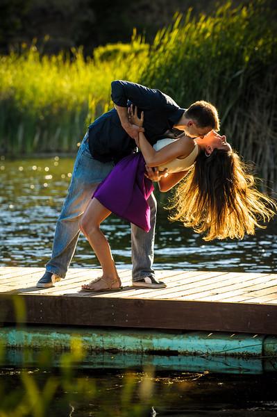 Jenny and Dimitriy (Engagement Photography, Foothills Park, Palo Alto, California)
