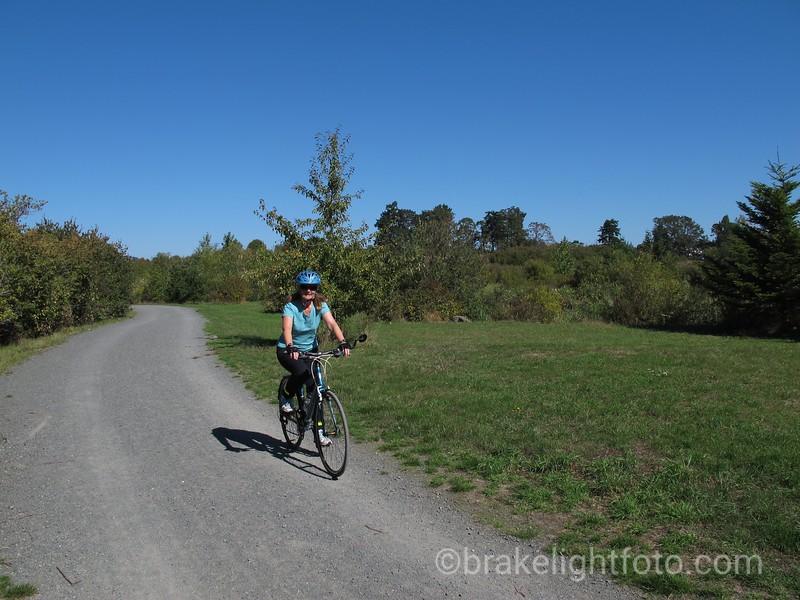 Biking Trail through Panama Flats