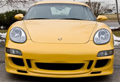 07 Porsche Caymen Custom Front Bumper