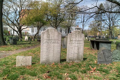 An old graveyard near the Harvard campus