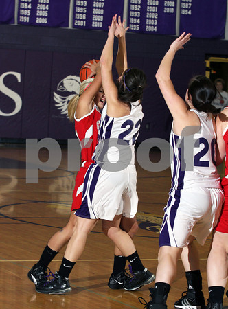 2012 Cameron County Girls Basketball @ Coudersport