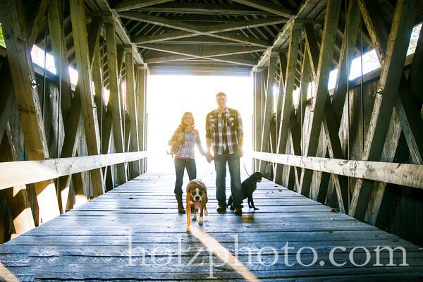 Noelle & Michael Color Engagement Photos