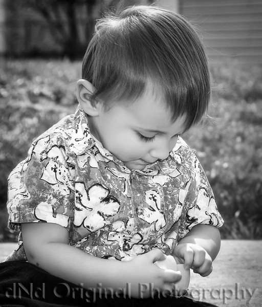 41 Easter April 2010 At DnD - Declan (crop b&w).jpg