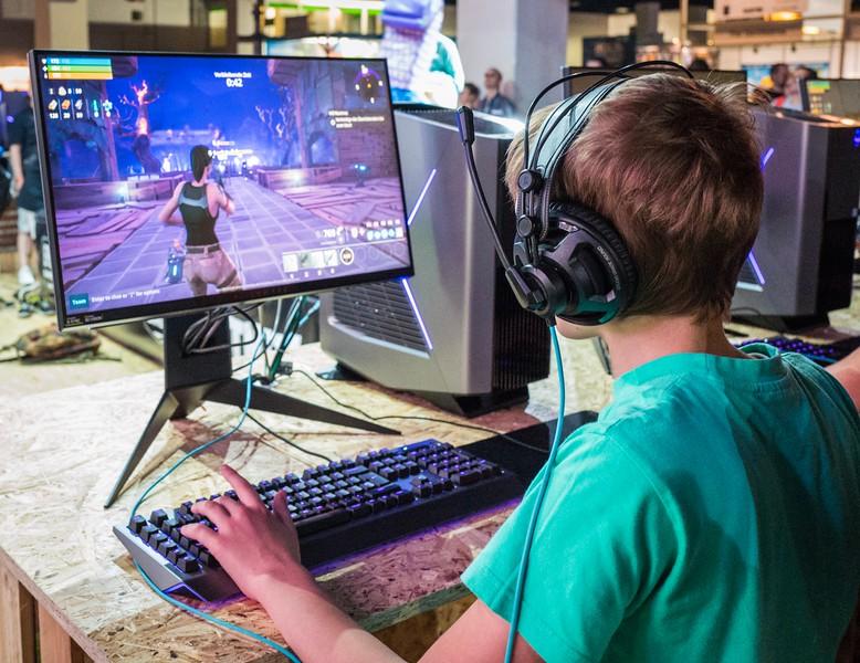 Fortnite at Gamescom 2017