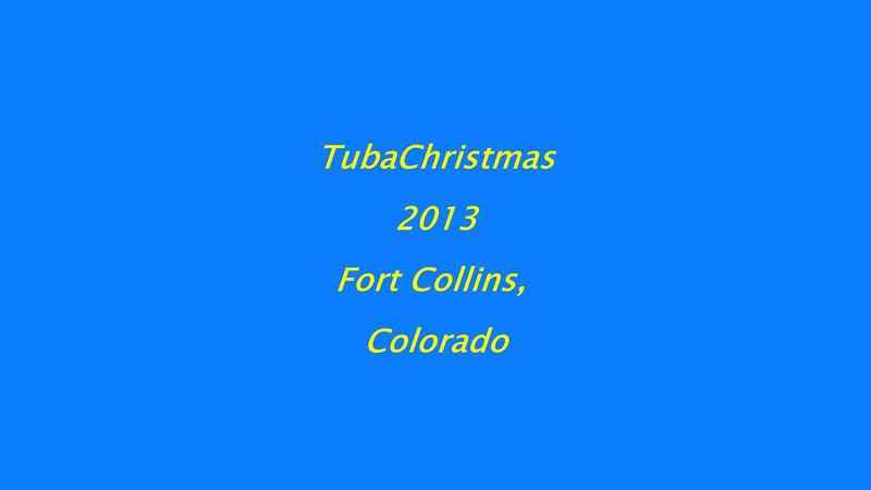 Tuba Christmas 2013