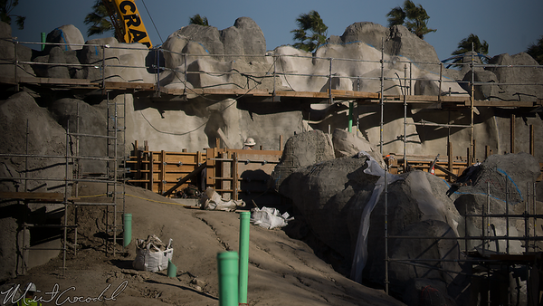Disneyland Resort, Disneyland, Frontierland, Critter Country, Star Wars Land, Star Wars, Star, Wars, Construction, Rivers Of America, Rivers, River, America