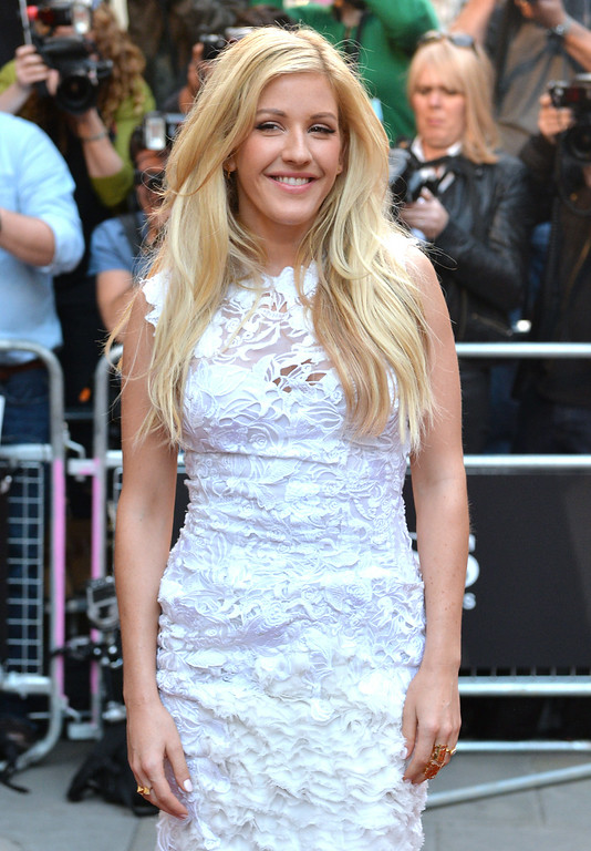 . Ellie Goulding attends the GQ Men of the Year awards at The Royal Opera House on September 2, 2014 in London, England.  (Photo by Anthony Harvey/Getty Images)