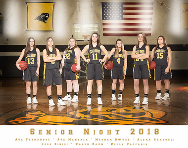Girls Varsity Basketball 2018