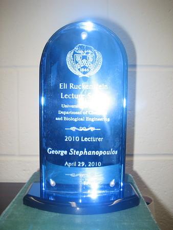 2010 Ruckenstein Lecture
