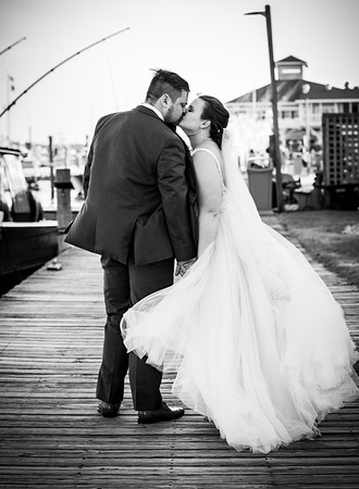 Brittany & Robert | Pirate's Cove | Manteo, NC