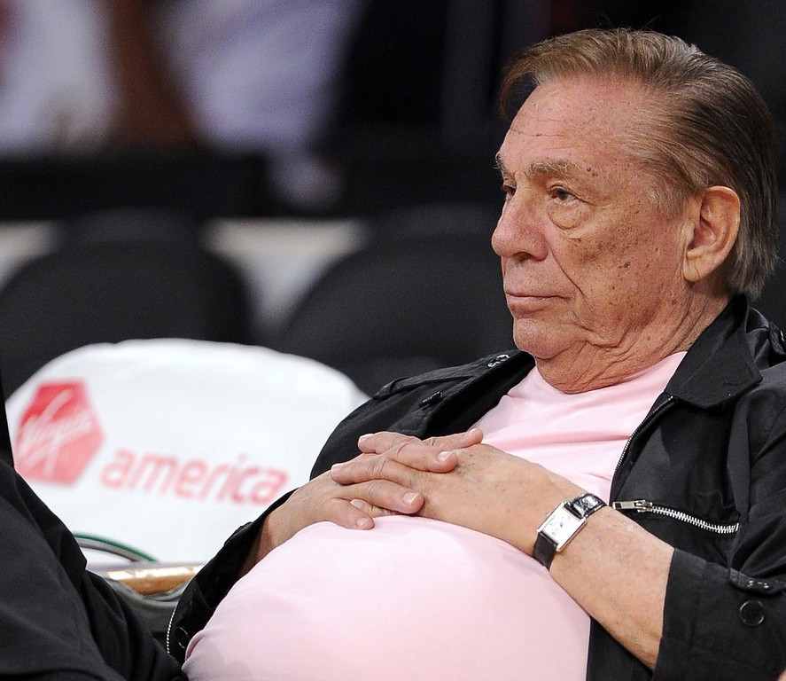 """. 3. DONALD STERLING <p>Turns out, his taped rants are among his more sane pronouncements. (unranked) <p><b><a href=\'http://nba.si.com/2014/06/09/donald-sterling-sue-nba-1-billion/\' target=\""""_blank\""""> LINK </a></b> <p>   (AP Photo/Mark J. Terrill)"""