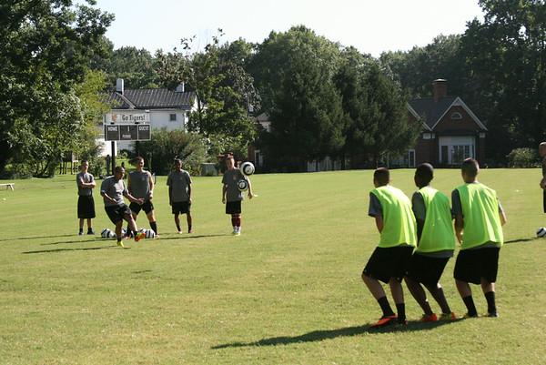 Varsity Soccer Attack Work