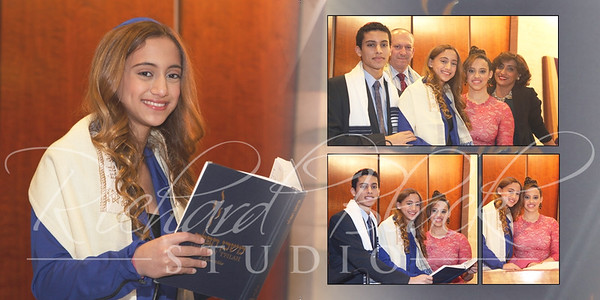 Jackie bat mitzvah layout
