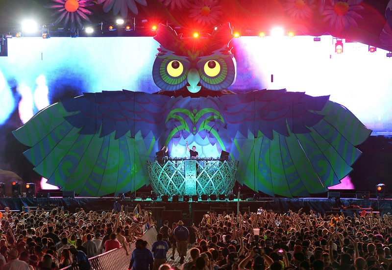 . DJ/producer Cedric Gervais performs at the 17th annual Electric Daisy Carnival at Las Vegas Motor Speedway on June 21, 2013 in Las Vegas, Nevada.  (Photo by Ethan Miller/Getty Images)