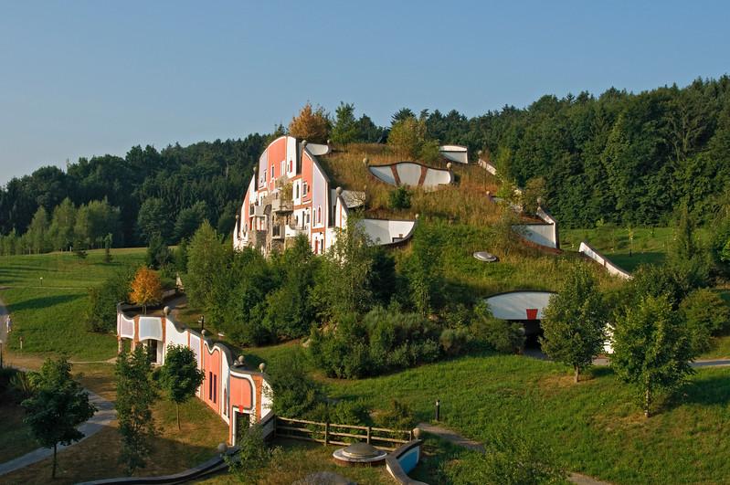 Steinhaus, Rogner Bad Blumau Spa Village, Austria