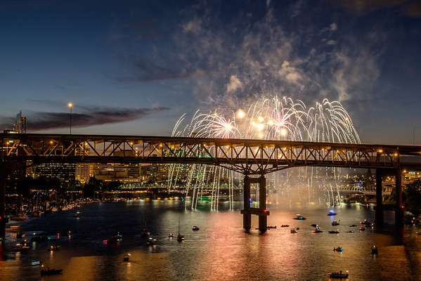 Waterfront 4th of July Fireworks 2016