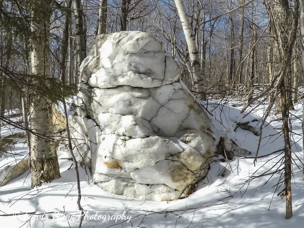 Winter Hike Snow Mountain