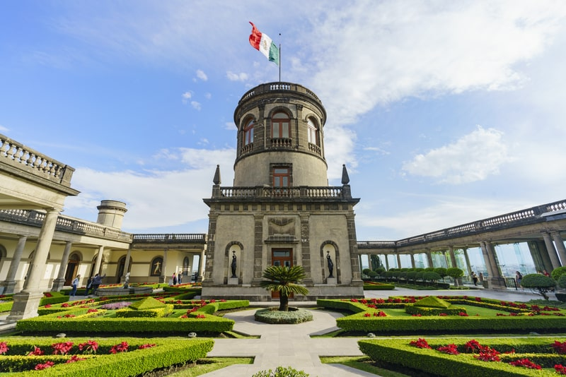 chapultepec castle - essential sight in mexico city