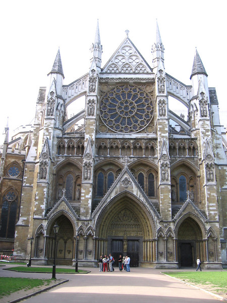 Westminster Abbey - North transept - May 20, 2007