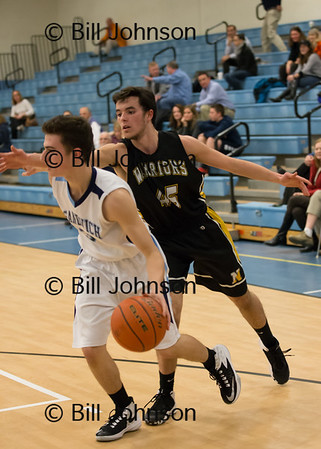 Nauset B JV Basketball v Sandwich 1_17_17