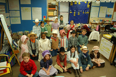 Third Grade Field Trip and Pioneer Days - Michele McManus