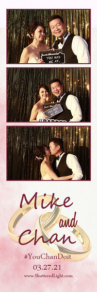 Mike and Chan Wedding Photobooth