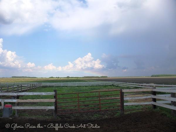 Prairie Rain Storm