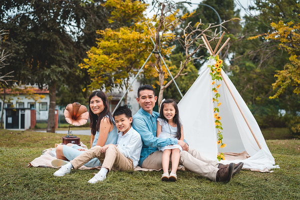 Xian Rong and Juliana Family Photos