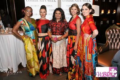 ViBha's fashion show at Fashion Community Week 2016!!