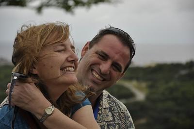 Caracasbaai, Fort Nassau, and Fort Waakzaamheid with Karen and Chris