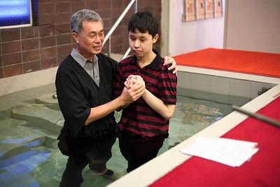 Baptism Service, December