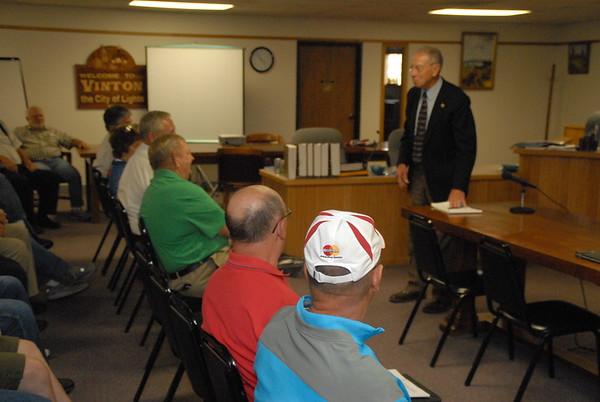 Chuck Grassley Town Metting, Vinton, Iowa, July 2, 2015