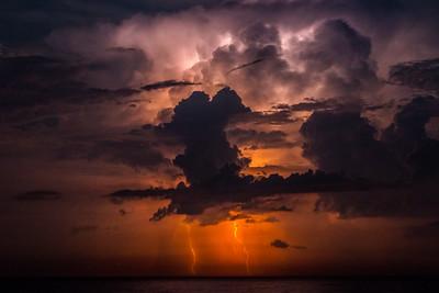 Stormy Night -Ocean City