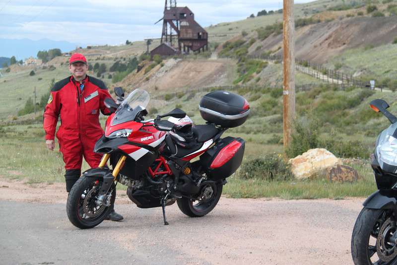 1/6 - Photo by Multistrada 1200 PP owner and ducati.ms forum member 'Duc PP' (aka Greg) - Near the Gold mining town of Cripple Creek, Colorado, USA