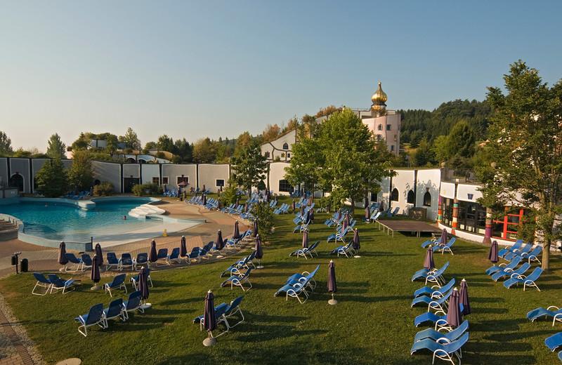 Stammhaus and Swimming Pool, Bad Blumau, Austria