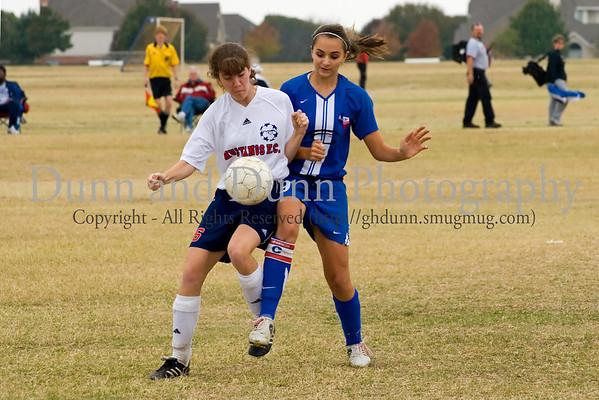 91Girls - Game against Texas Football Club - Nov 5, 2006