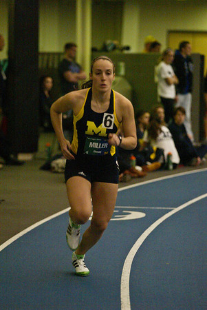 600 Meters - 2013 UM vs MSU Indoor Meet