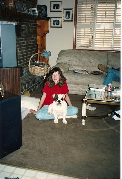Catherine & Bubba - 4/92