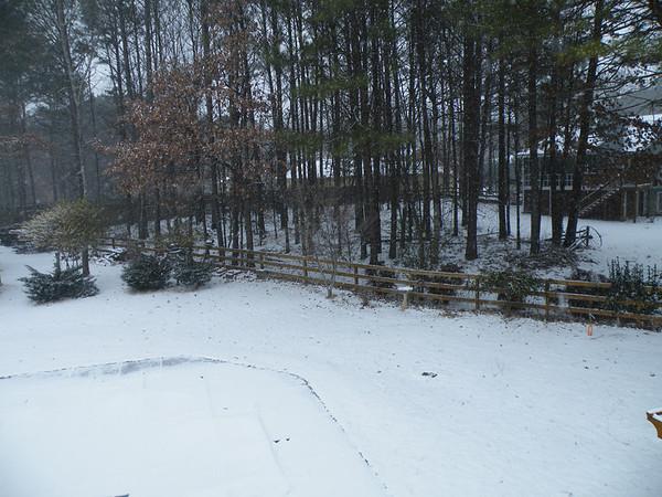 Snow January 28, 2014