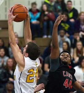 Carrollton basketball at Valley Lutheran 20150220