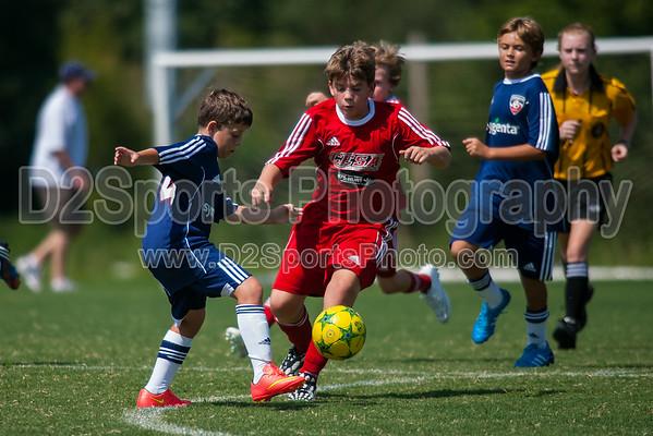 CESA 03 RED BOYS 2 vs GREENSBORO UNITED REVOLUTION - U11 Boys 8/16/2014